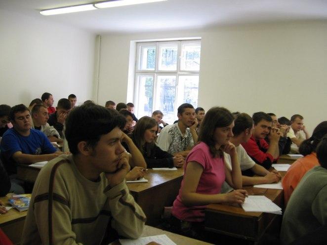Під час лекцій у корпусі на вул. ген. Тарнавського
