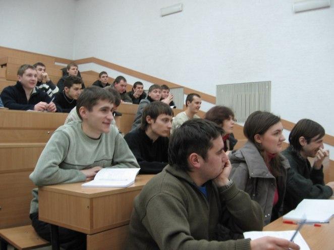 Під час лекцій у корпусі на вул. Драгоманова