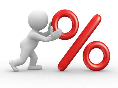 Як обчислити відсотки?